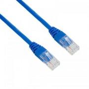 Cablu UTP 4World Patch cord neecranat Cat 5e 15m Albastru
