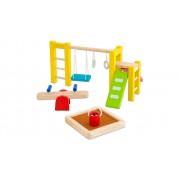 PlanToys Puppenhausmöbel Spielplatz