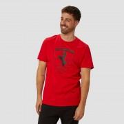 PUMA Scuderia ferrari big shield shirt rood heren Heren - rood - Size: Small