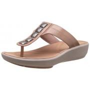 Clarks Women's Wave Pop Dusty Pink Slippers - 3 UK/India (35.5 EU)
