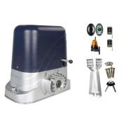 Kit Automatizare Poarta Culisanta 800kg cu Fotocelule si Lampa