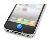 iPhone iPad iPod Lyx Hemknapp (Blå)
