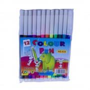Carioci pe Baza de Apa 12 Culori/Set, Varf Rotund - Carioca pentru Desenat