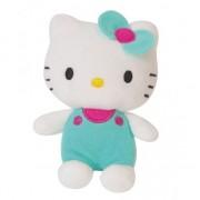 Hello Kitty Pluche Hello Kitty met groene kleding