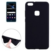 Huawei P10 Lite Soft TPU Protective Back Cover Case(Black)