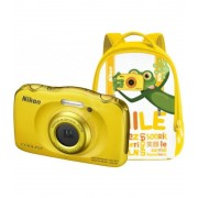 Nikon Family Kit Nikon Coolpix W100 Amarillo