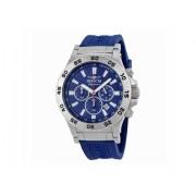 Invicta Watches Invicta Signature II Ralford Chrono Blue Dial Mens Watch 7443 Blue