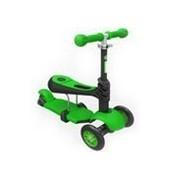 Ybike Yvolution Glider 3in1 green - trotineta