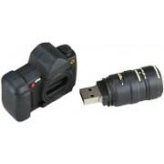 Microware Camera Shape Designer Pen Drive 8 GB
