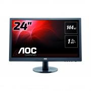 """AOC G2460FQ 24"""", 1ms, 144 Hz, 1080p Геймърски монитор за компютър"""