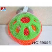 Csörgős labda narancssárga-zöld