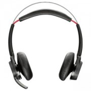 Безжични слушалки Plantronics Voyager Focus MS UC Stereo (No Stand), Bluetooth v4.1, 202652-04