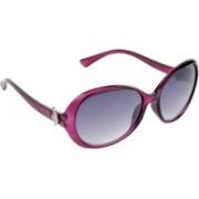 Hrinkar Over-sized Sunglasses(Violet)