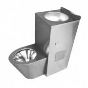 Combinatie WC si lavoar din inox BL-01