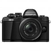 Olympus OM-D E-M10 Mark II Aparat Foto Mirrorless 16MP MFT Full HD Kit cu Obiectiv EZ-M 14-42mm F3.5-5.6 IIR Negru