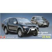 HARD TOP ABS ISUZU D-MAX DBLE CAB AVEC VITRES LATERALES - accessoires 4X4 m...