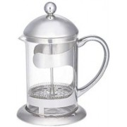 Aggarwal Crockery & Scientific Stores Stainless Steel Coffee Plunger 800 ml 8 Cups Coffee Maker(transparent)