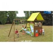 Area gioco Mahori con altalena AGL1371