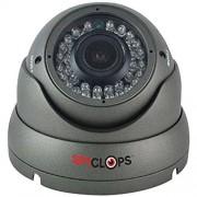 SPYCLOPS Spy-DOMEGAHD1 Security & Surveillance Dome Camera, White (Spy-DOMEGAHD1)