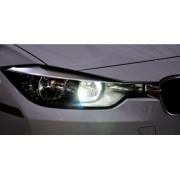 Par Lampadas Led BMW Serie 3 F30 F31 Luz Diurna Led Luz Diurna Bmw F30 F31
