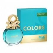 Benetton colors de benetton blue 50 ml eau de toilette edt profumo donna