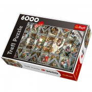 Trefl Puzzle Slagalica Sistine Chapel Ceiling 6000 (65000)