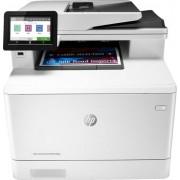 HP - LaserJet Pro M479fdw Wireless Color All-In-One Laser Printer - White