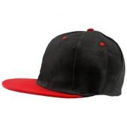 Black Plain Cotton Caps 44 A