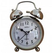 Ceas cu desteptator Adler 7144-C 9x9 cm