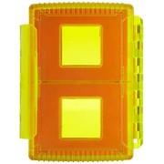 Gepe 3863 funda para tarjeta de memoria 4 tarjetas Fundas para tarjetas de memoria (4 tarjetas, CF, MMC, Memoria extraíble, SD, SmartMedia, Resistente a los golpes, Resistente al polvo, Resistente a golpes, 99 mm, 77 mm, 24 mm)