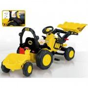 Tractor excavator cu remorca Toony Trac Injusa