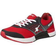 Sparx Men's Black and Red Running Shoes - 8 UK (SX0220G)