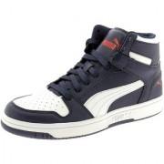 Puma Men's Navy Blue Rebound LayUp SL Sneakers