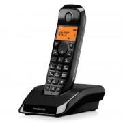 Motorola S1201 Telefone Sem Fios Preto