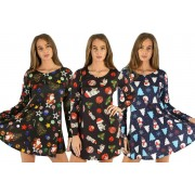 Love My Fashions Limited £11 for a ladies' festive dress in UK sizes 8-22 from Love My Fashions