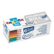 Carioca Coloring Roll Mini, 10 x 85 cm/rola, hartie autoadeziva - White
