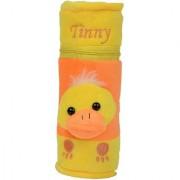 Dazzle baby bottle cover bottle case with teddy design ziplock medium size random color single bottle cover color yellow