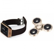 Zemini DZ09 Smart Watch and Fidget Spinner for LG OPTIMUS L5(DZ09 Smart Watch With 4G Sim Card Memory Card  Fidget Spinner)