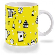 Mooch Wale Tea Time Ceramic Mug
