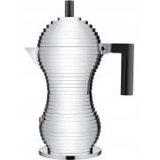 Alessi Pulcina koffiemaker 15cl zwart