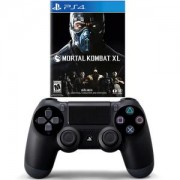 Геймпад - Sony PlayStation DualShock 4 Wireless+Игра Mortal Kombat XL PS4