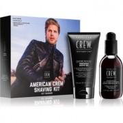 American Crew Shave & Beard Shaving Kit coffret para homens II.