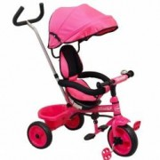 Tricicleta pentru copii Ecotrike Baby Mix pink