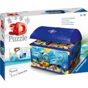 216 3D elemente de puzzle Casket lume subacvatică
