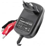Carregador Baterias de Chumbo Automático 12VDC 1000mA/h