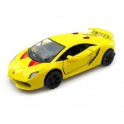 Kinsmart 1:28 Scale Lamborghini Sesto Elemento Die-Cast Car with Openable Doors & Pull Back Action