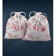 Mr. Gugu & Miss Go Flowers Sketch Underwear Bag BGU1065