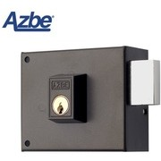 Cerradura de sobreponer sin resbalón AZBE 124 80 mm, Izquierda