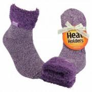 Heat Holders Ladies lounge socks 4-8 37-42 lila mauve/cream 1paar