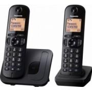 Telefon Dect Twin Panasonic KX-TGC212FXB 2 receptoare Negru